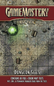 Pathfinder: Game Mastery: Map Pack: Dungeon Sites