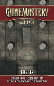 Pathfinder: Game Mastery: Map Pack: Crypts