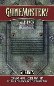 Pathfinder: Game Mastery: Map Pack: Shrines