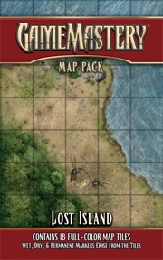 Pathfinder: Game Mastery: Map Pack: Lost Island