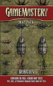 Pathfinder: Game Mastery: Map Pack: Vehicles