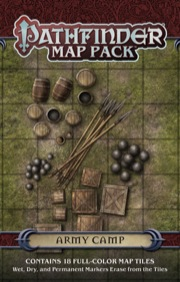Pathfinder: Game Mastery: Map Pack: Army Camp