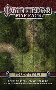 Pathfinder: Map Pack: Forest Trails