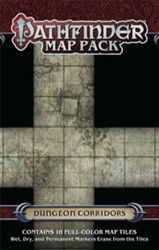 Pathfinder: Game Mastery: Map Pack: Dungeon Corridors
