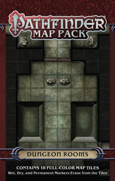 Pathfinder: Game Mastery: Map Pack: Dungeon Rooms