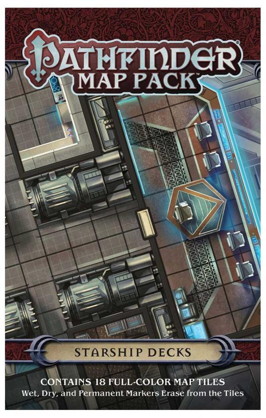 Pathfinder: Map Pack: Starship Decks