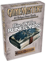 Pathfinder: Game Mastery: Rise of the RuneLord Cards