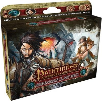 Pathfinder Adventure Card Game: Class Deck: Barbarian
