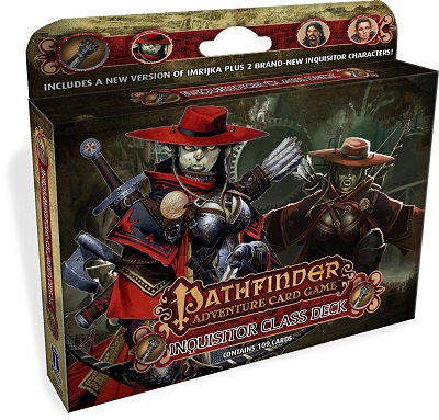 Pathfinder: Adventure Card Game: Class Deck: Inquisitors