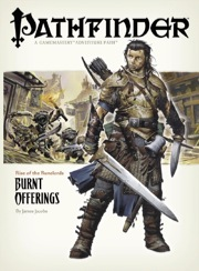 Pathfinder: Rise of the Runelords: Burnt Offerings - Used