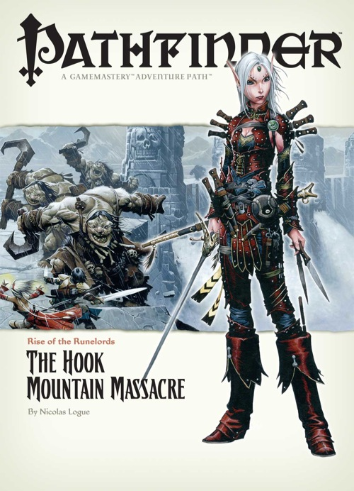 Pathfinder: Rise of the Runelords: The Hook Mountain Massacre - used