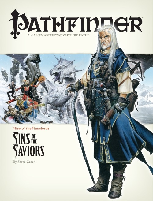 Pathfinder: Rise of the Runelords: Sins of the Saviors - used