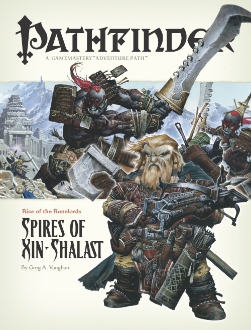 Pathfinder: Rise of the Runelords: Spires of Xin Shalast - used