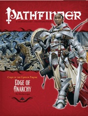 Pathfinder: Adventure Path: Curse of the Crimson Throne: Edge of Anarchy - Used