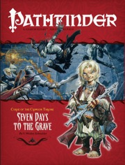 Pathfinder: Adventure Path: Curse of the Crimson Throne: Seven Days to the Grave - Used