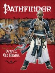 Pathfinder: Adventure Path: Curse of the Crimson Throne: Escape from Old Korvosa - Used