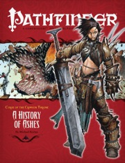 Pathfinder: Adventure Path: Curse of the Crimson Throne: A History of Ashes - Used