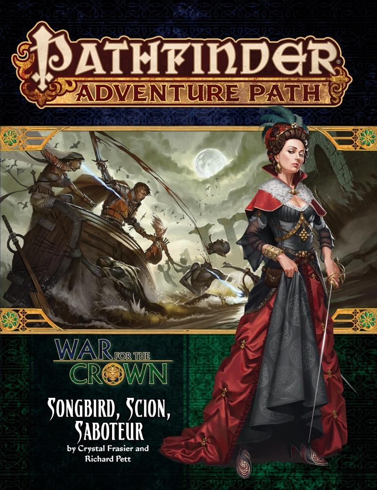 Pathfinder: Adventure Path: War for the Crown: Songbird Scion Saboteur