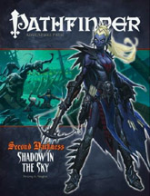 Pathfinder Role Playing Game: Adventure Path: Second Darkness: Shadow in The Sky - Used
