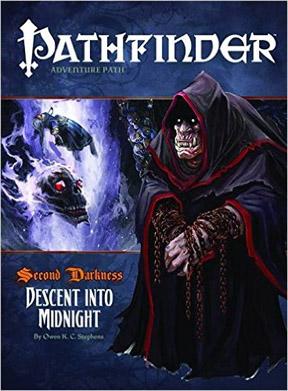 Pathfinder: Adventure Path: Second Darkness: Descent into Midnight - Used