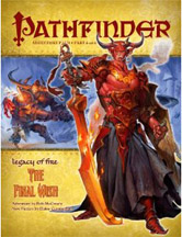 Pathfinder: Legacy of Fire: The Final Wish - Used