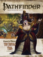 Pathfinder: Adventure Path: Council of Theives: The Sixfold Trial - Used