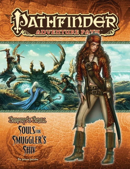Pathfinder: Adventure Path: Serpents Skull: Souls for Smugglers Shiv - Used