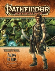 Pathfinder: Adventure Path: Serpents Skull: Racing To Ruin - Used