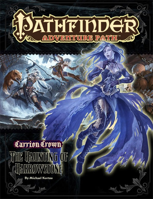 Pathfinder: Adventuer Path: Carrion Crown: The Haunting of Harrowstone - Used