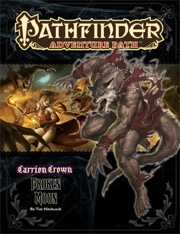 Pathfinder: Adventure Path: Carrion Crown: Broken Moon - Used