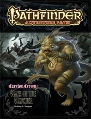 Pathfinder: Adventure Path: Carrion Crown: Wake of the Watcher - Used
