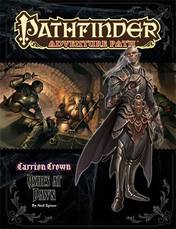 Pathfinder: Adventure Path: Carrion Crown: Ashes at Dawn - Used