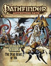 Pathfinder: Adventure Path: Shattered Star: The Dead Heart of Xin