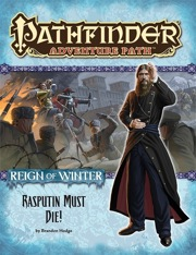 Pathfinder: Adventure Path: Reign of Winter: Rasputin Must Die