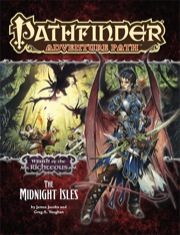 Pathfinder: Adventure Path: Wrath of the Righteous: The Midnight Isles - Used