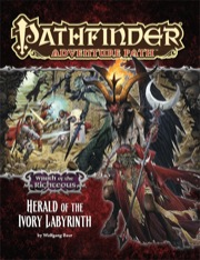 Pathfinder: Adventure Path: Wrath of the Righteous: Herald of the Ivory Labyrinth - Used
