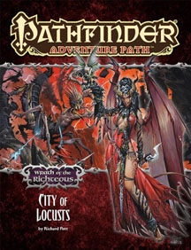 Pathfinder: Adventure Path: Wrath of the Righteous: City of Locusts - Used