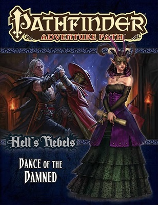 Pathfinder: Adventure Path: Hells Rebels 3: Dance of the Damned  - Used