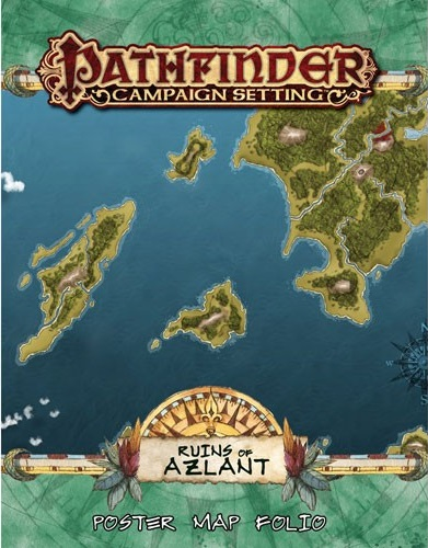 Pathfinder: Campaign Setting: Ruins of Azlant Poster Map Folio
