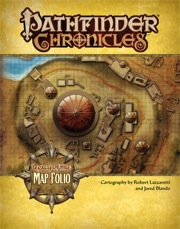 Pathfinder Chronicles: Map Folio: Legacy of Fire