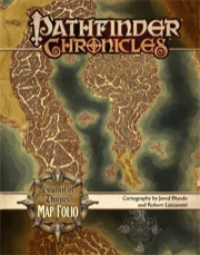 Pathfinder Chronicles: Council of Thieves Map Folio