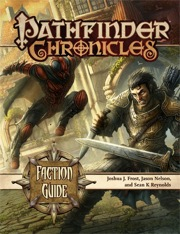 Pathfinder Chronicles: Faction Guide - Used