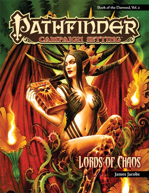 Pathfinder: Campaign Setting: Lords of Chaos - Used