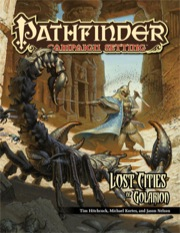 Pathfinder: Campaign Setting: Lost Cities of Golarion - Used