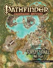 Pathfinder: Campaign Setting: Serpents Skull Map Folio - Used