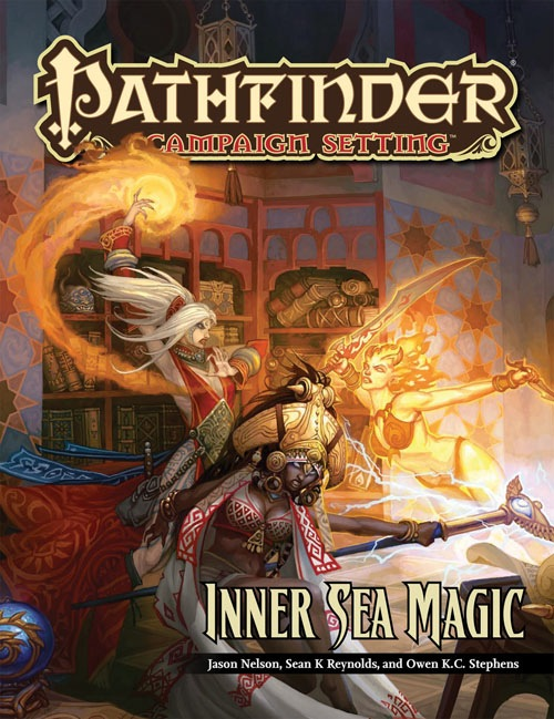 Pathfinder: Campaign Setting: Inner Sea Magic - Used