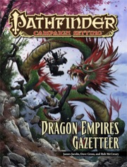 Pathfinder: Campaign Setting: Dragon Empires Gazetteer - Used