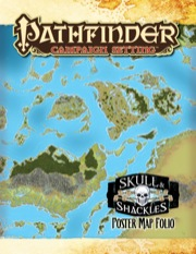 Pathfinder: Campaign Setting: Skull and Shackles: Poster Map Folio
