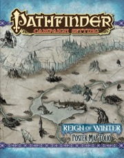 Pathfinder: Campaign Setting: Reign of Winter: Poster Map Folio