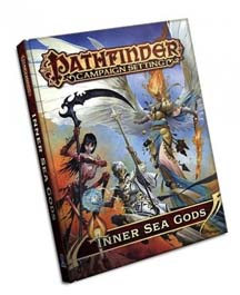 Pathfinder Role Playing Game: Inner Sea Gods Hard Cover
